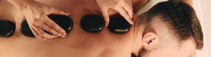 Massaggio Hot stone e Krio stone